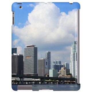 Waterfront view of Miami iPad Case