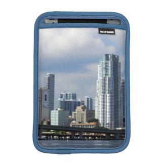 Waterfront view of Miami iPad Mini Sleeve