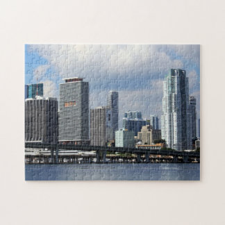 Waterfront view of Miami Jigsaw Puzzle