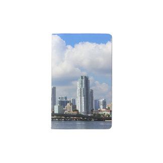 Waterfront view of Miami Pocket Moleskine Notebook