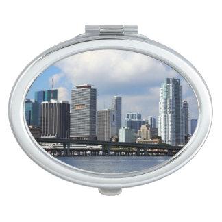 Waterfront view of Miami Vanity Mirror