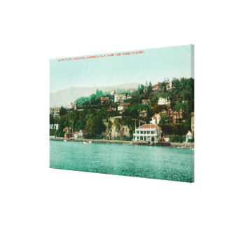 Waterfront View of San Francisco Yacht Club Canvas Prints