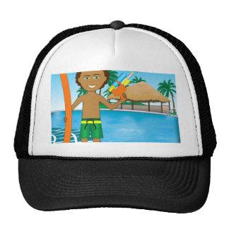 Watergun Pool Boy Mesh Hats
