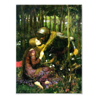 Waterhouse Beautiful Woman Without Mercy Print