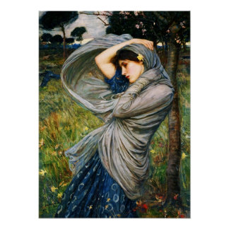 Waterhouse Boreas Poster