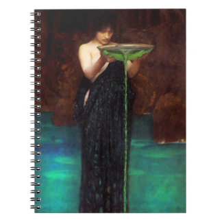 Waterhouse Circe Invidiosa Notebook
