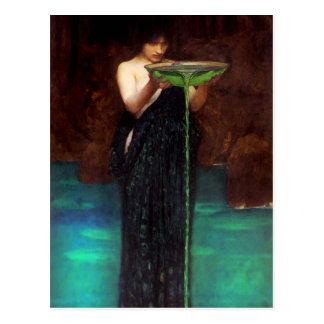 Waterhouse Circe Invidiosa Postcard