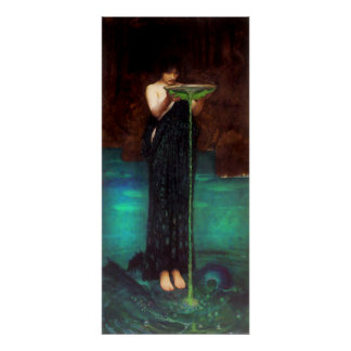 Waterhouse Circe Invidiosa Poster