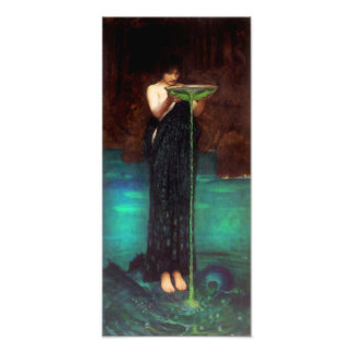 Waterhouse Circe Invidiosa Print