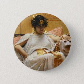 Waterhouse Cleopatra Button
