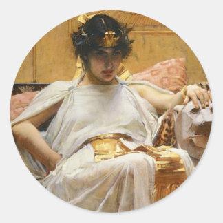 Waterhouse Cleopatra Stickers
