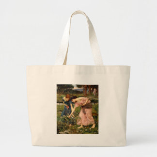 Waterhouse-gather_ye_rosebuds-1909. Canvas Bags