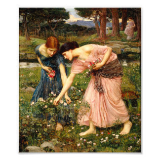 Waterhouse Gather Ye Rosebuds Print