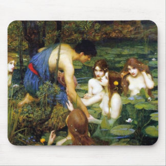 Waterhouse Hylas and the Nymphs Mouse Pad