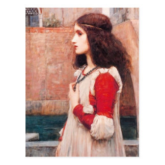 Waterhouse Juliet Postcard