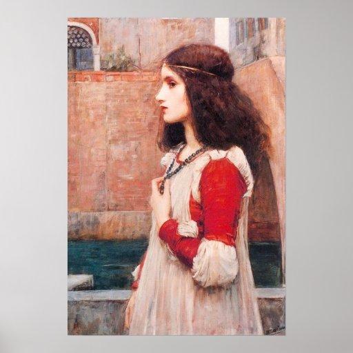 Waterhouse Juliet Poster