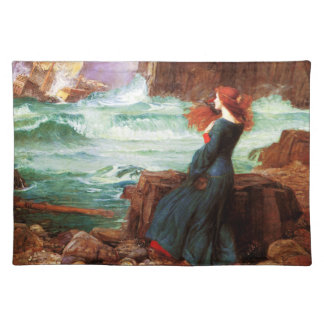 Waterhouse Miranda The Tempest Placemat