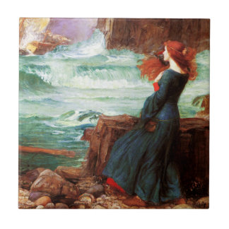 Waterhouse Miranda The Tempest Tile