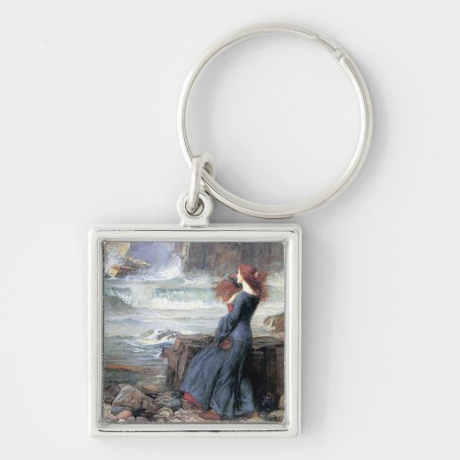 Waterhouse miranda the tempest woman ship wreck keychains
