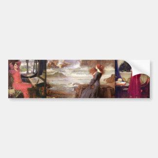 Waterhouse Myths Bumper Sticker