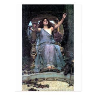 Waterhouse Offering Cup Ulysses woman Postcard