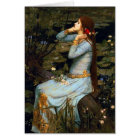 Waterhouse Ophelia Greeting Card