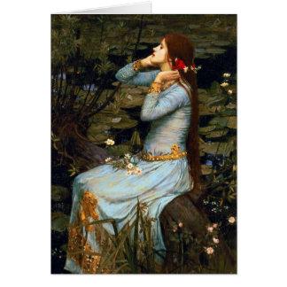 Waterhouse Ophelia Greeting Card