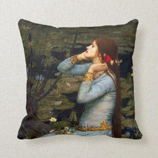 Waterhouse Ophelia Pillow