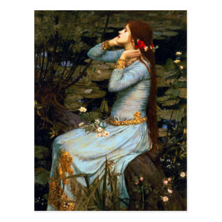Waterhouse Ophelia Postcard