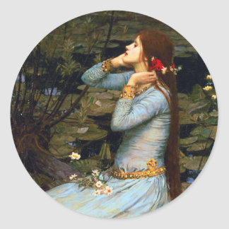 Waterhouse Ophelia Stickers
