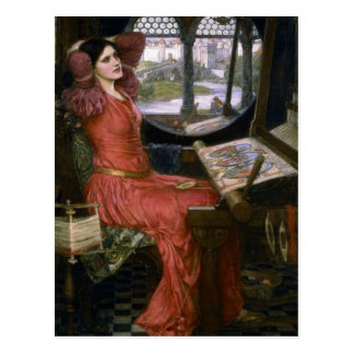 Waterhouse s Lady of Shalott Postcard