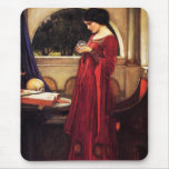 Waterhouse The Crystal Ball Mouse Pad