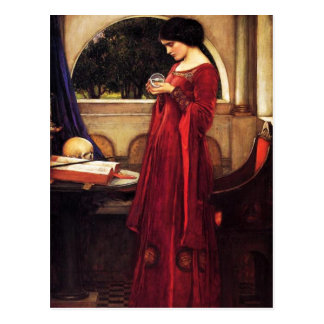 Waterhouse The Crystal Ball Postcard