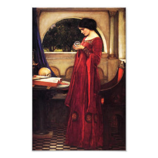 Waterhouse The Crystal Ball Print