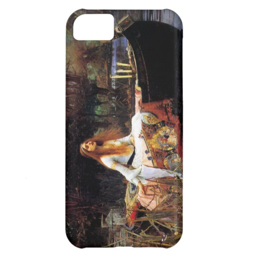 Waterhouse The Lady of Shalott iPhone 5 Case