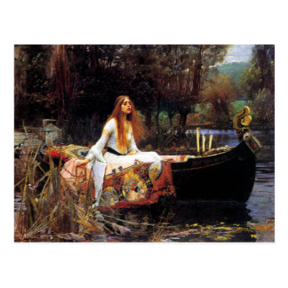 Waterhouse The Lady of Shalott Postcard
