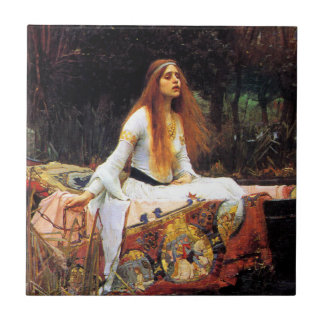 Waterhouse The Lady of Shalott Tile