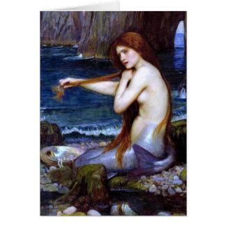 Waterhouse: The Mermaid Greeting Cards