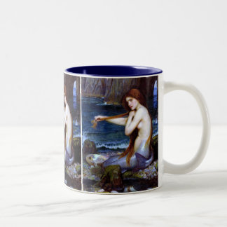 Waterhouse: The Mermaid Two-Tone Coffee Mug