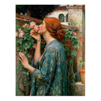 Waterhouse The Soul of the Rose Postcard