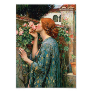 Waterhouse The Soul of the Rose Print Photo