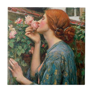 Waterhouse The Soul of the Rose Tile