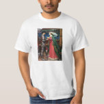 Waterhouse Tristan and Isolde T-shirt