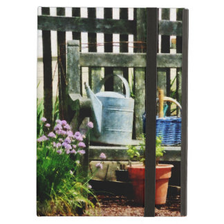 Watering Can and Blue Basket iPad Air Cover