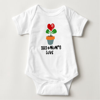 Watering Can Family Baby Jumpsuit T Shirt