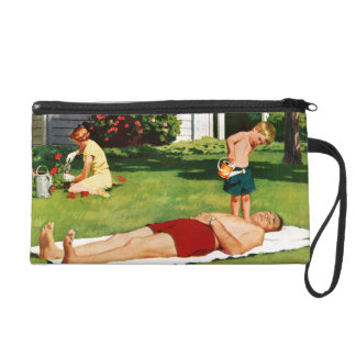 Watering Father Wristlet
