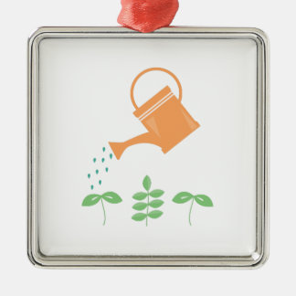 Watering Plants Ornament