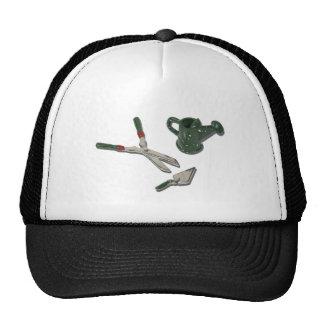 WateringCanTrimmerShovel112611 Trucker Hat