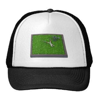 WateringCanTrimmersOnGrass112611 Hats