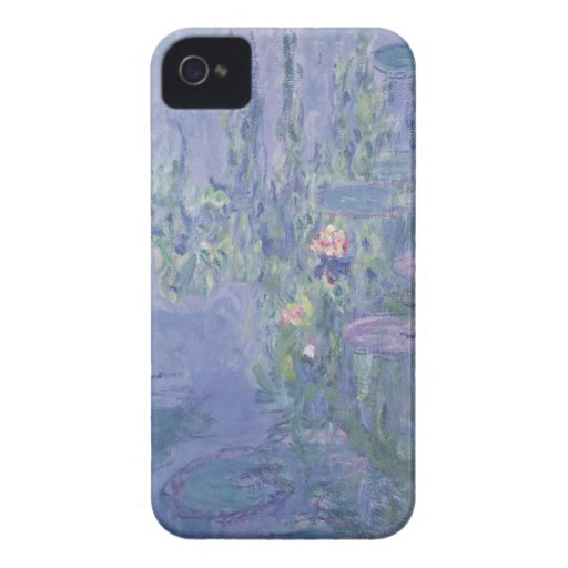 Waterlilies, 1907 (oil on canvas) iPhone 4 Case-Mate cases